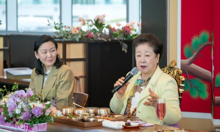 Tasting Event to celebrate the opening of Hyojeong Yeon on the fourth floor of Hyojeong Cafe