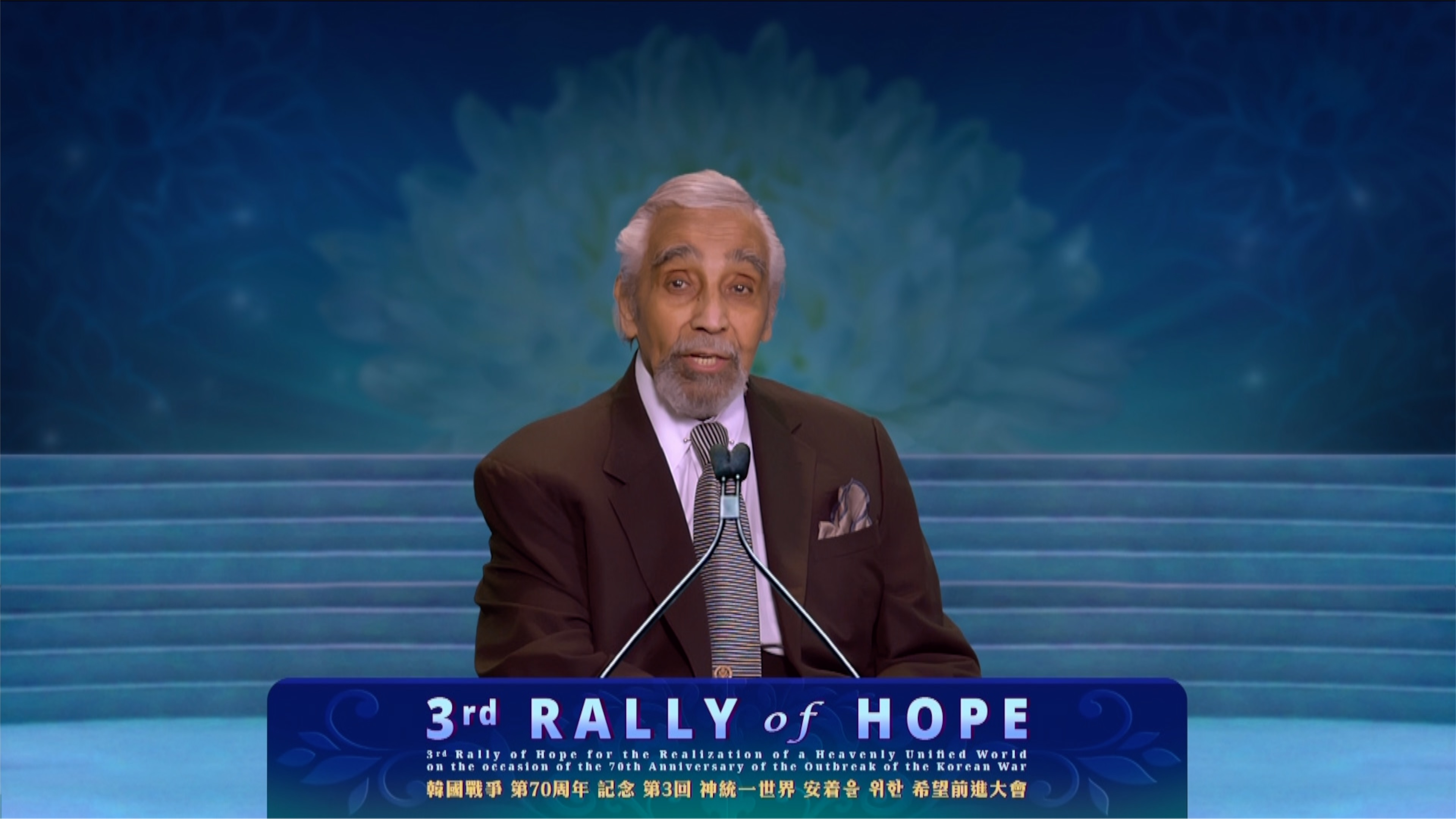 The Third Rally of Hope for the Realization of a Heavenly Unified World / 2020.11.22