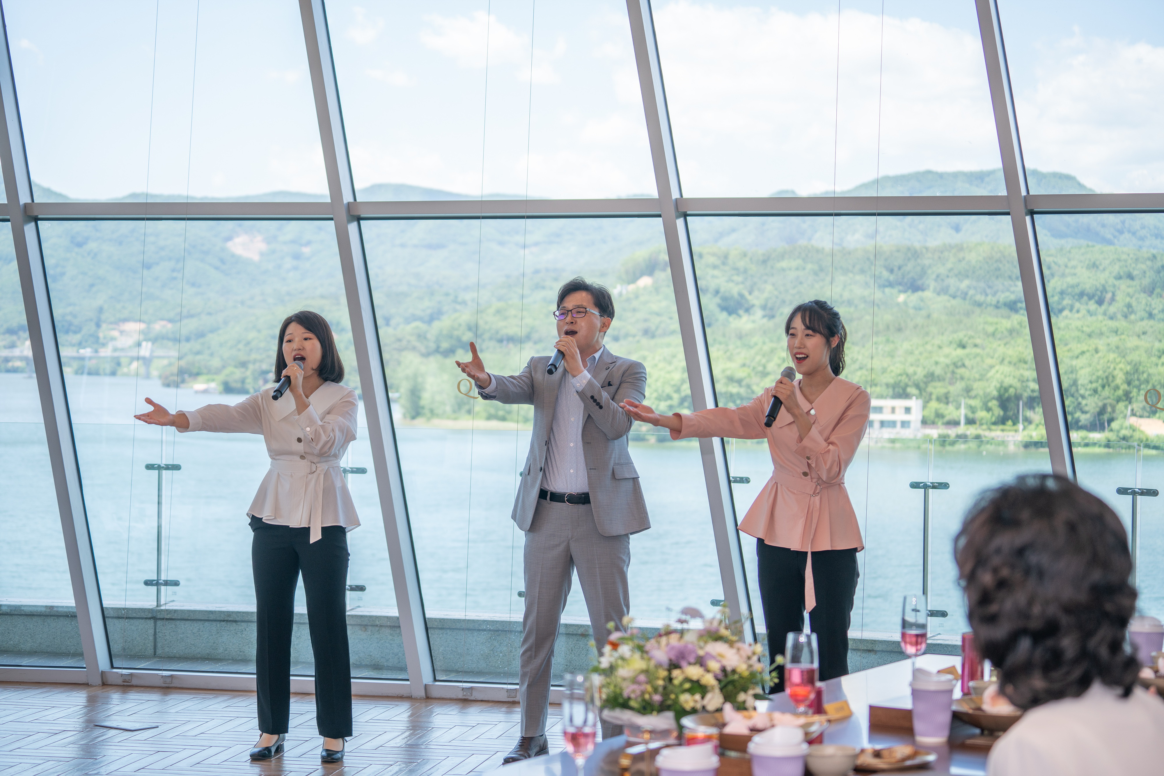 Tasting Event to celebrate the opening of Hyojeong Yeon officiated by True Parents