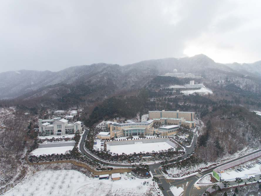 Snow Scenes of HJ Heaven and Earth CheonBo Training Center / 2020.2.17