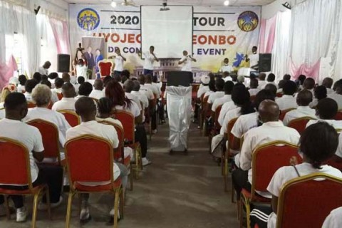Heavenly Africa Hyojeong CheonBo DR Congo Online Event