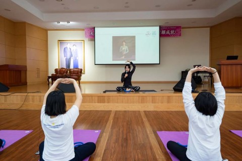 【True Love Yoga Class】237th (144th Blessed Wives) HJ CheonBo 40-day Workshop / 2020.2.19
