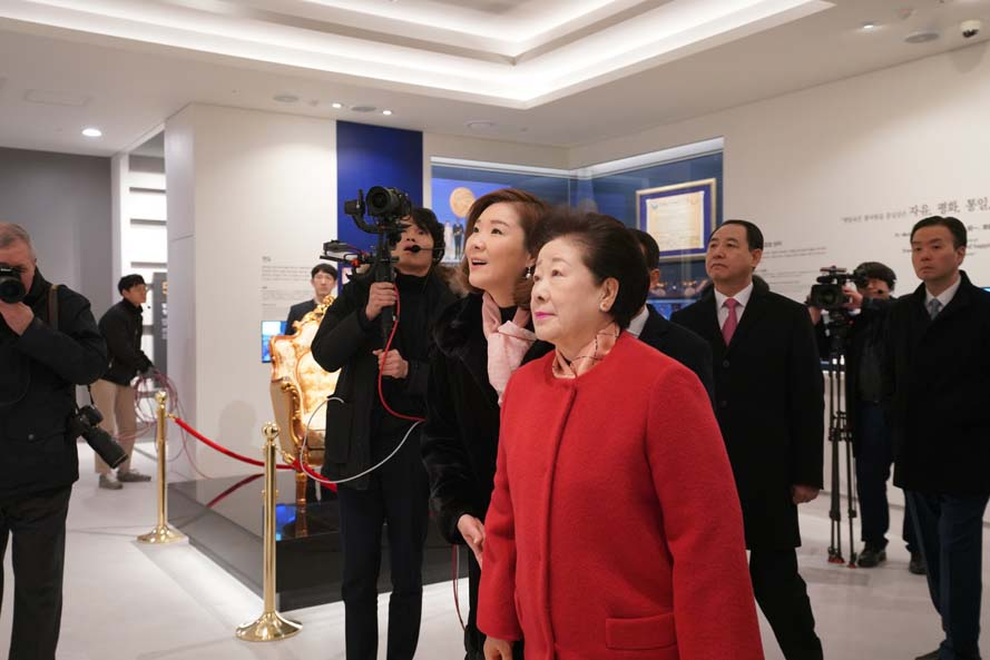Grand Dedication Ceremony for CheonBo Won